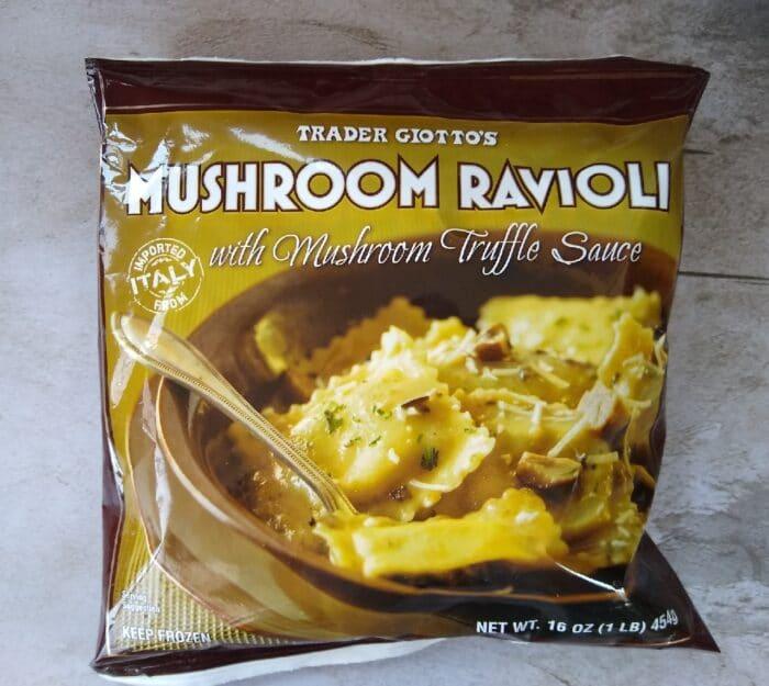 Trader Giotto's Mushroom Ravioli