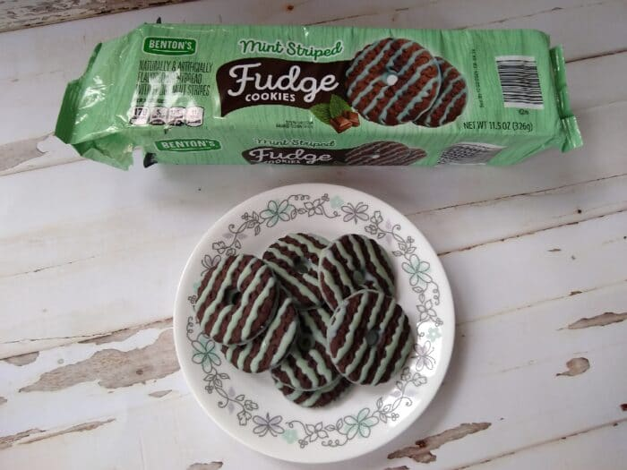 Benton's Mint Striped Fudge Cookies
