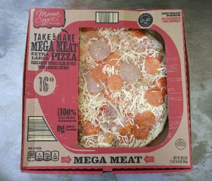 Mama Cozzi's Take & Bake Mega Meat Extra Large Pizza