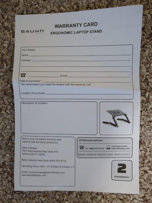 Bauhn Laptop Stand