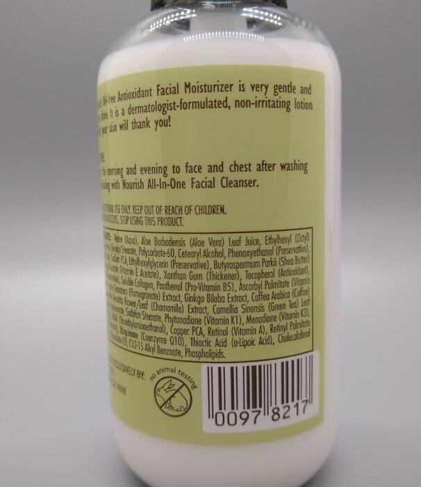 Trader Joe's Nourish Oil-Free Antioxidant Facial Moisturizer