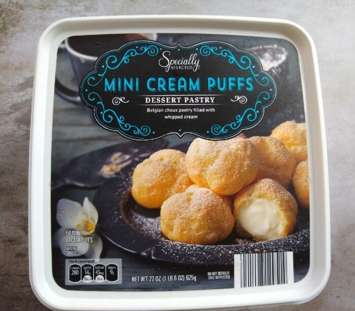 Specially Selected Mini Cream Puffs