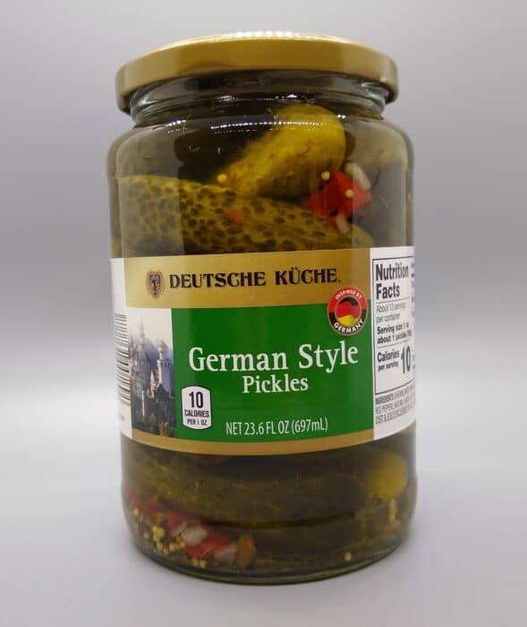 Deutsche Kuche German Style Pickles