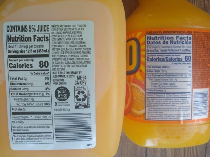 Nature's Nectar Citrus Punch