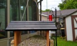 Gardenline Wooden Birdhouse with Suets
