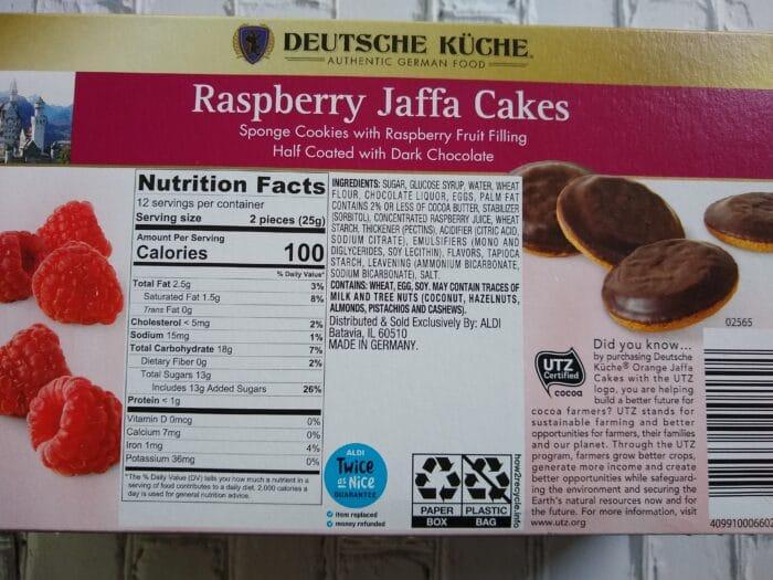 Deutsche Kuche Jaffa Cakes