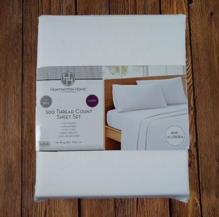 Huntington Home 500 Thread Count Sheet Set