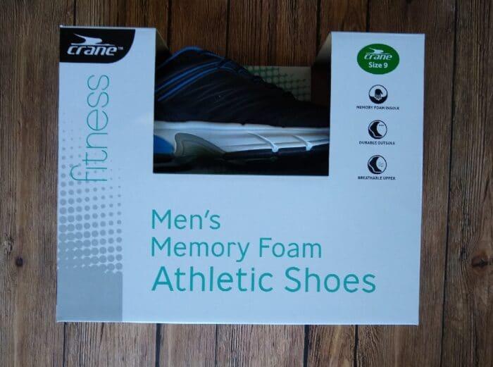 Crane Men's Memory Foam Athletic Shoes