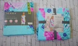 Serra Lounge Wear Ladies Sleep Shirt and Serra Lounge Wear Ladies Soft Robe