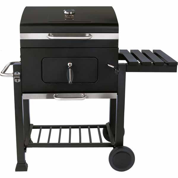 Range Master Heavy-Duty 24 Deluxe Charcoal Grill