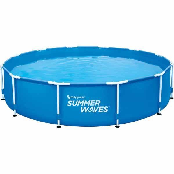 "Summer Waves 12' x 30"" Active Frame Pool"
