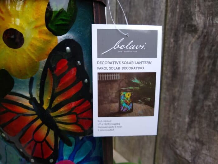 Belavi Decorative Solar Lantern
