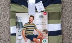 Royal Class Men's 2 Piece Short Pajama Set
