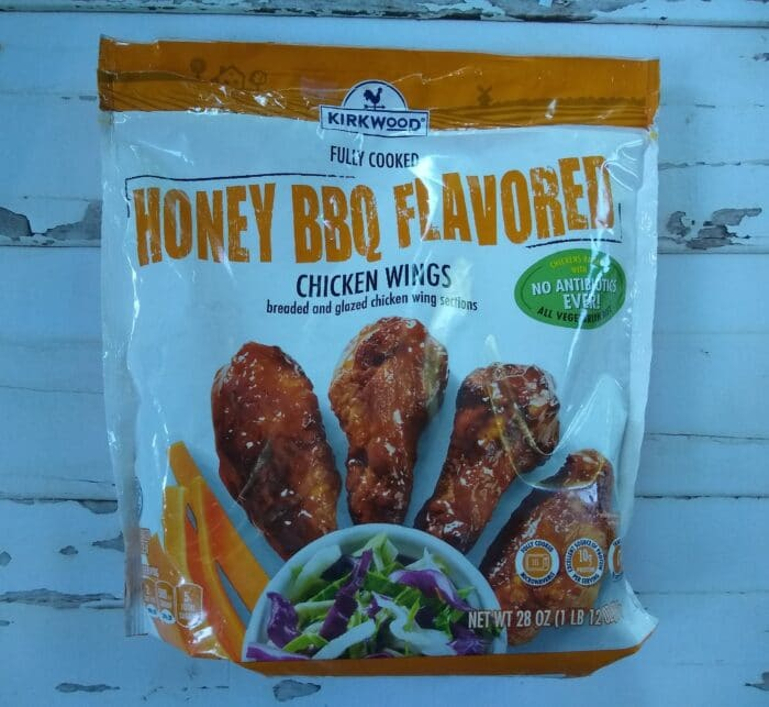 Kirkwood Fully Cooked Honey BBQ Flavored Chicken Wings