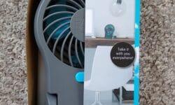 Easy Home 3.5 Inch Portable Fan
