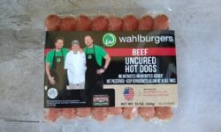 Wahlburgers Beef Uncured Hot Dogs