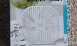 Easy Home 5 Inch Portable Fan
