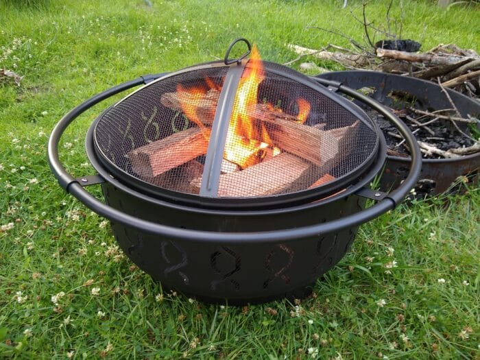 Belavi 30 inch fire pit