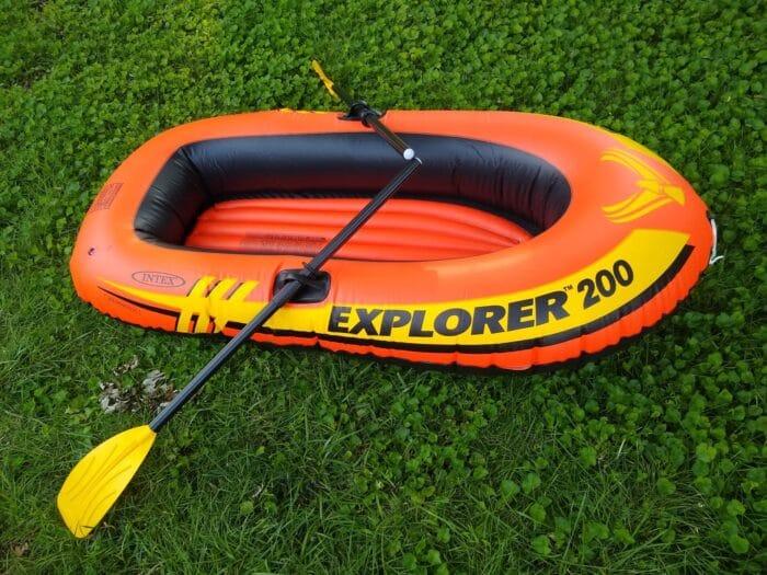 Intex Explorer Boat Set