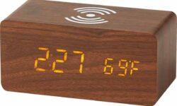 Bauhn Wireless Charging Clock