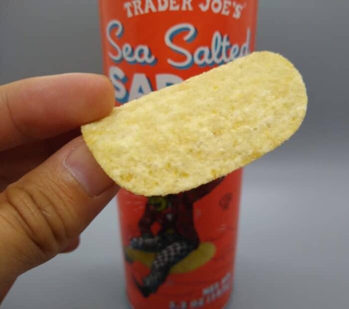 Trader Joe's Sea Salted Saddle Potato Crisps