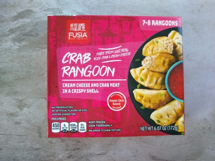 Fusia Asian Inspirations Crab Rangoon