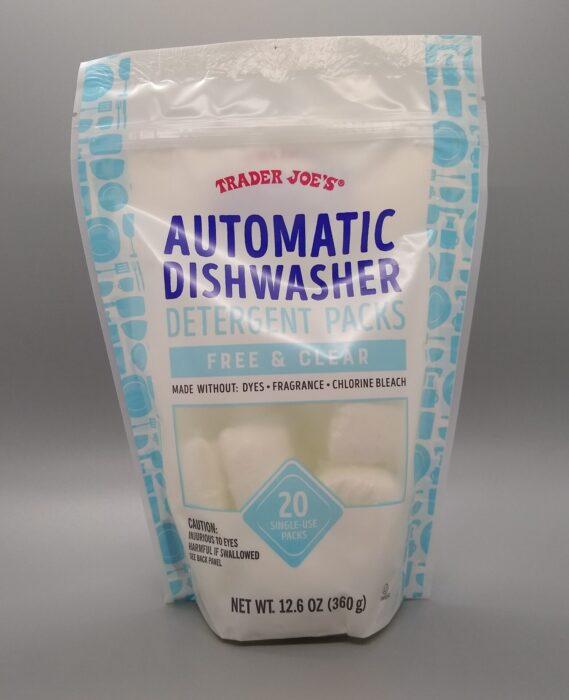 Trader Joe's Automatic Dishwasher Detergent Packs