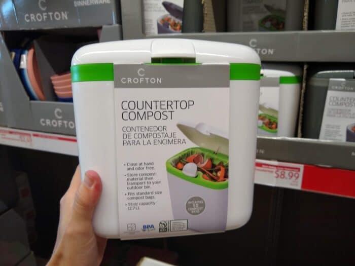 Crofton Mini Countertop Compost Bin
