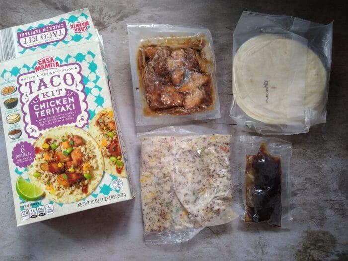 Casa Mamita Asian & Mexican Fusion Chicken Teriyaki Taco Kit