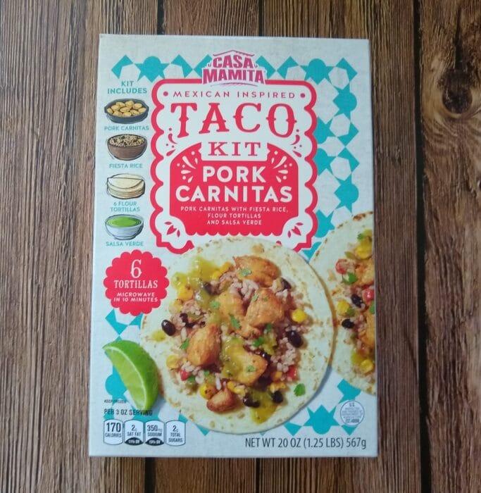 Casa Mamita Pork Carnitas Taco Kit