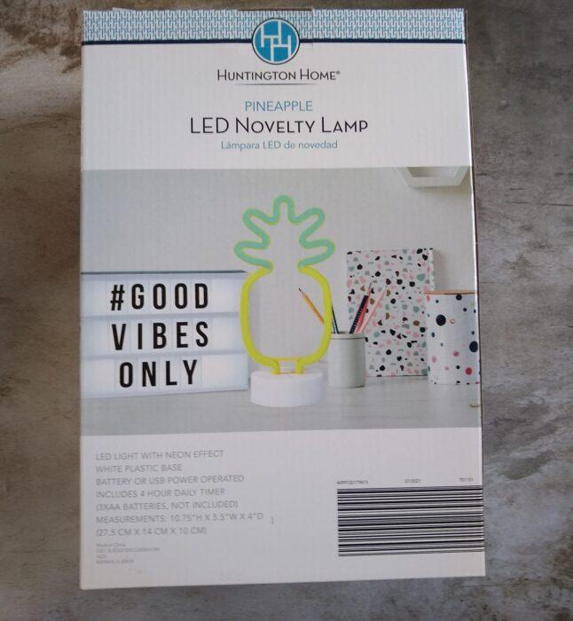 Huntington Home LED Novelty Lamp