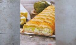 Deutsche Küche Artichoke & Cheese Strudel