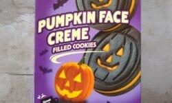 Benton's Pumpkin Face Creme Filled Cookies