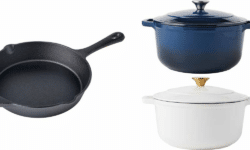 Crofton Cast Iron Cookware - Skillet and Dutch Oven