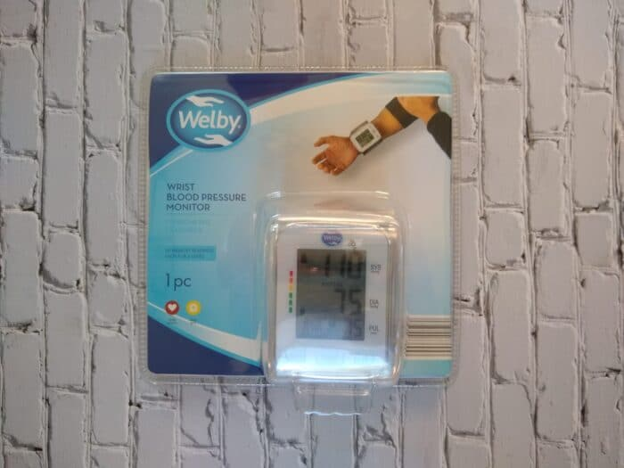 Welby Wrist Blood Pressure Monitor