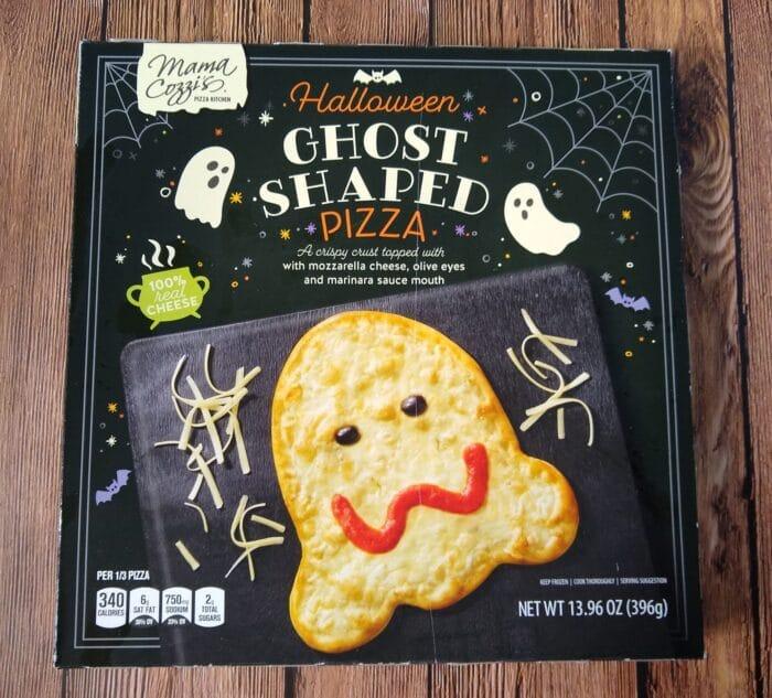 Mama Cozzi's Halloween Ghost Shaped Pizza